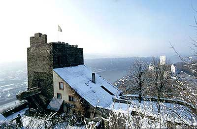 Winter at Castle Liebenstein