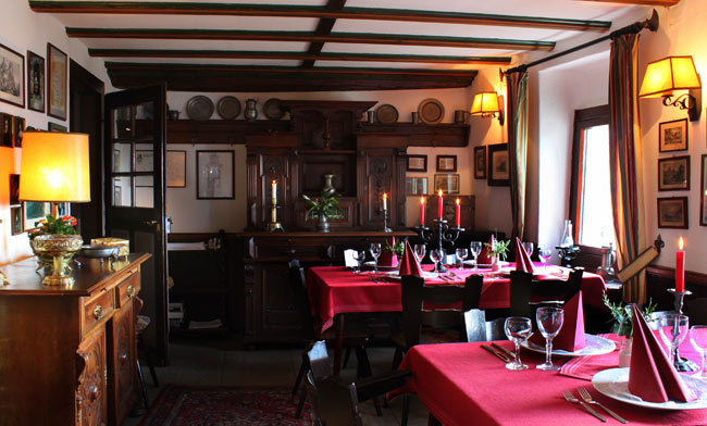Restaurant in the 'Bauernstube'