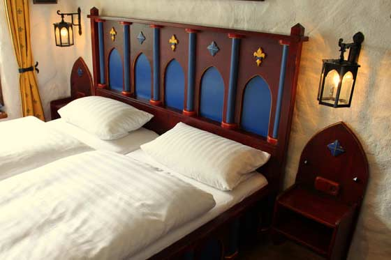 Double room at Hotel Castle Liebenstein